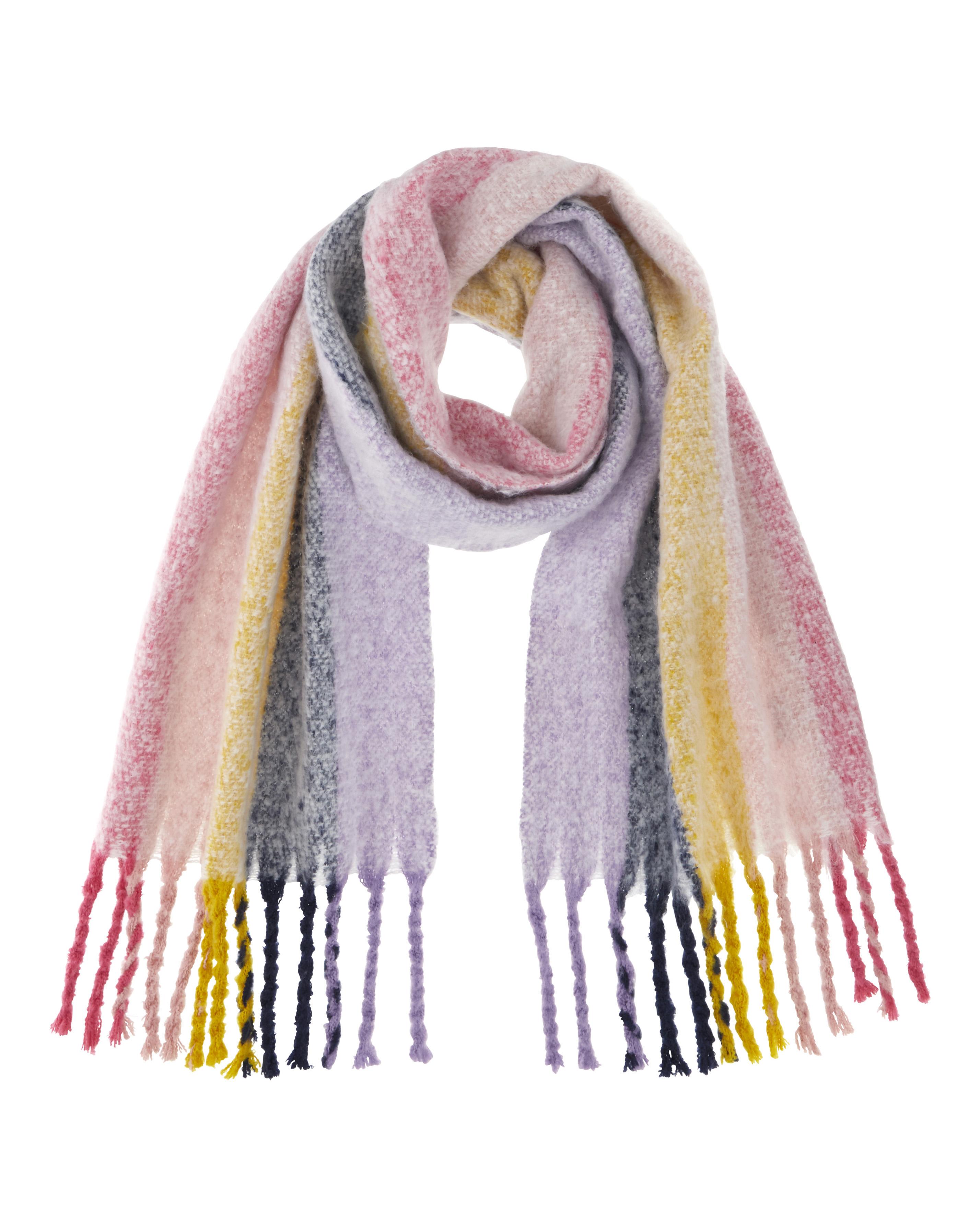 Stripe scarf, £18 JD Williams