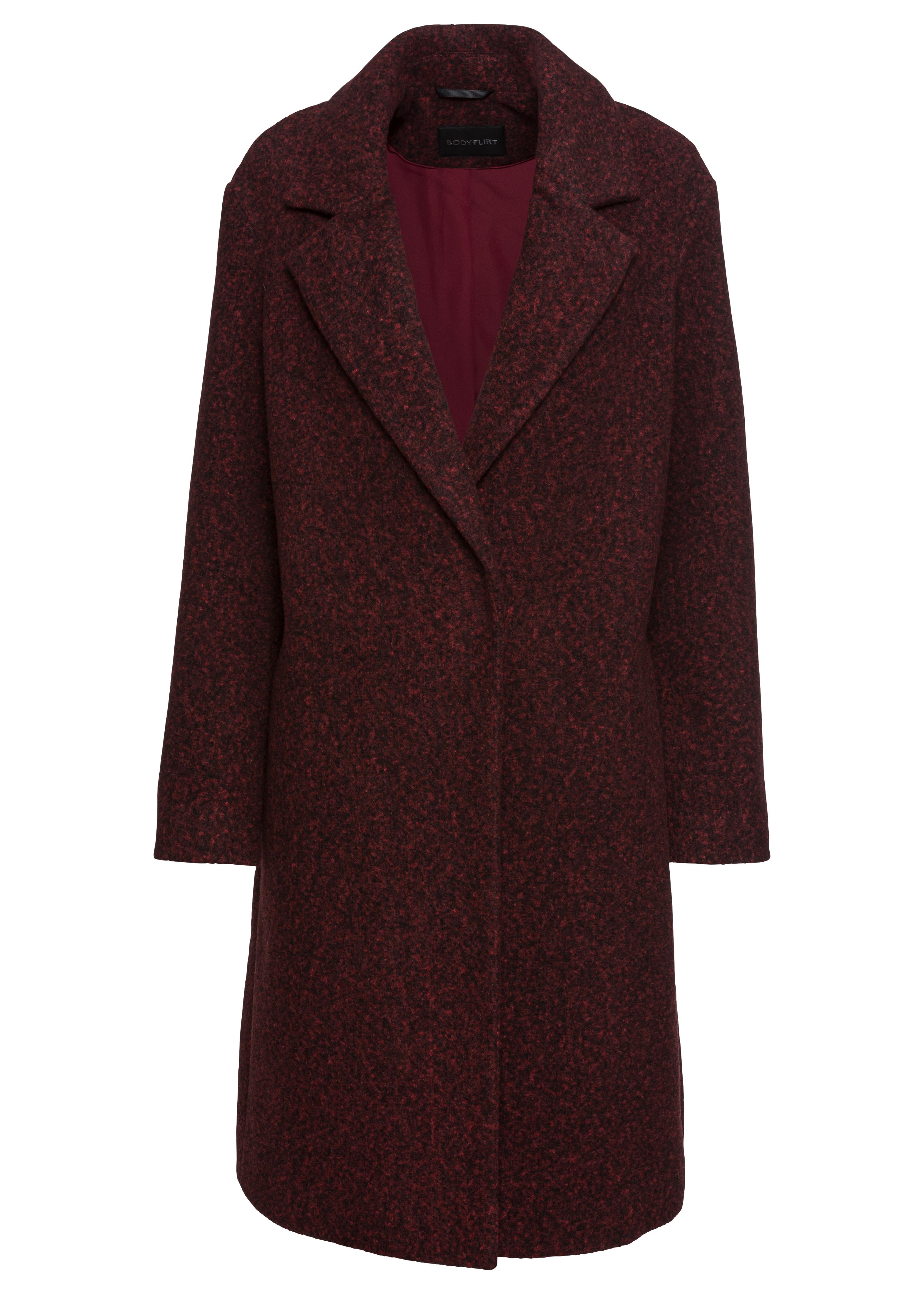 Wool Look Coat, £22, Bon Prix