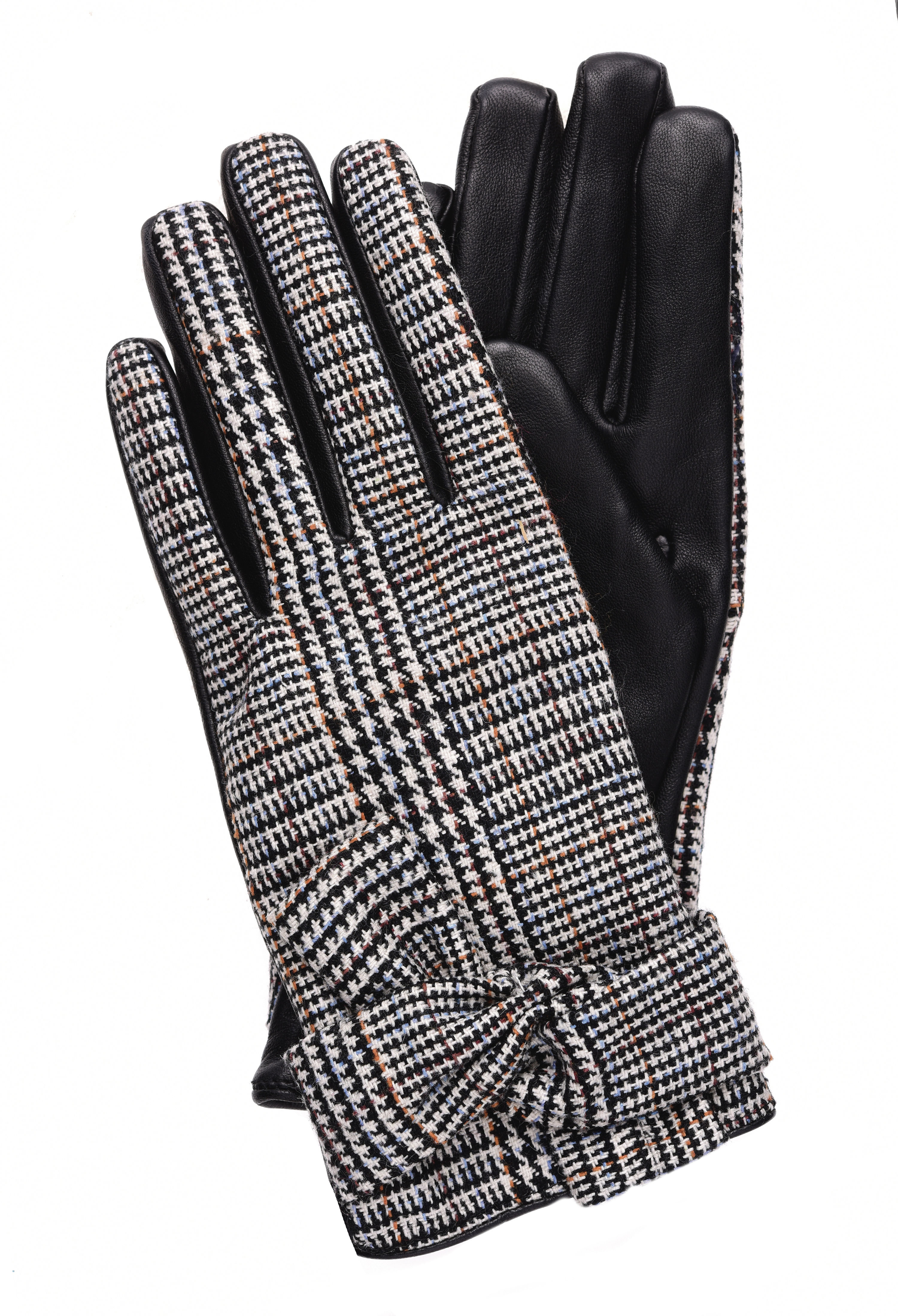 Heritage check gloves, £18, Dorothy Perkins