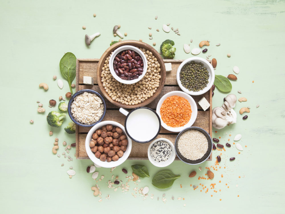 Seeds and pulses are perfect to add texture to Italian food