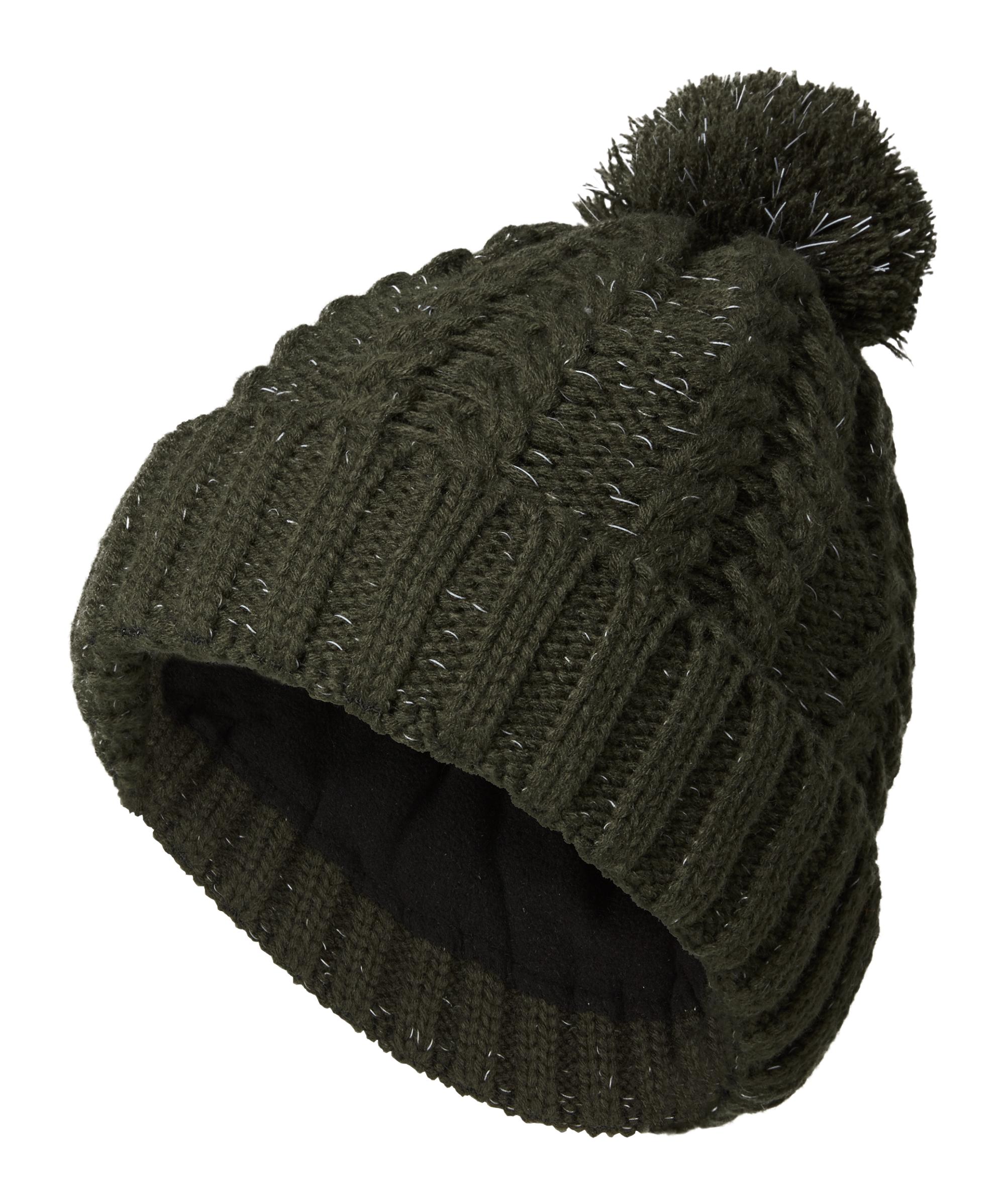 Reflected fleece hat, £15, Joe Browns