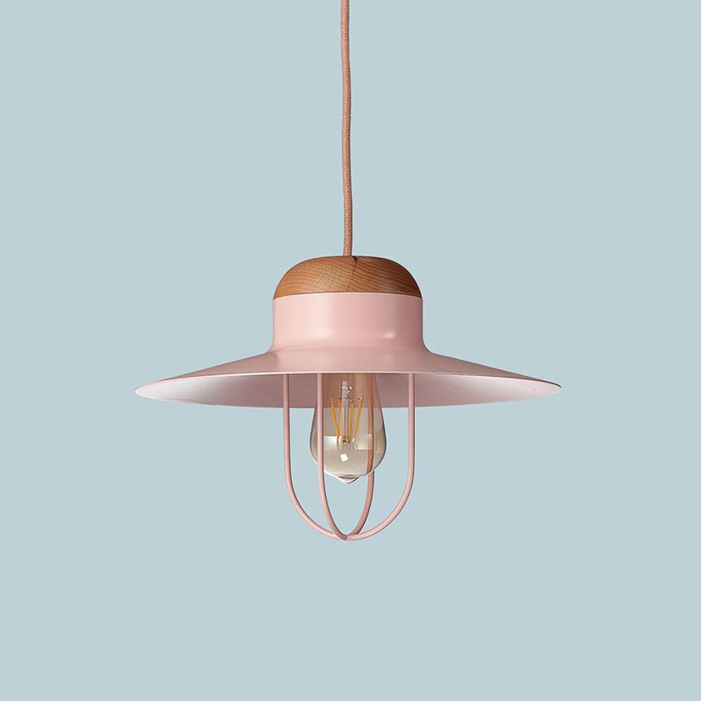 Pastel pink desk lamp, £14.99, TK Maxx,