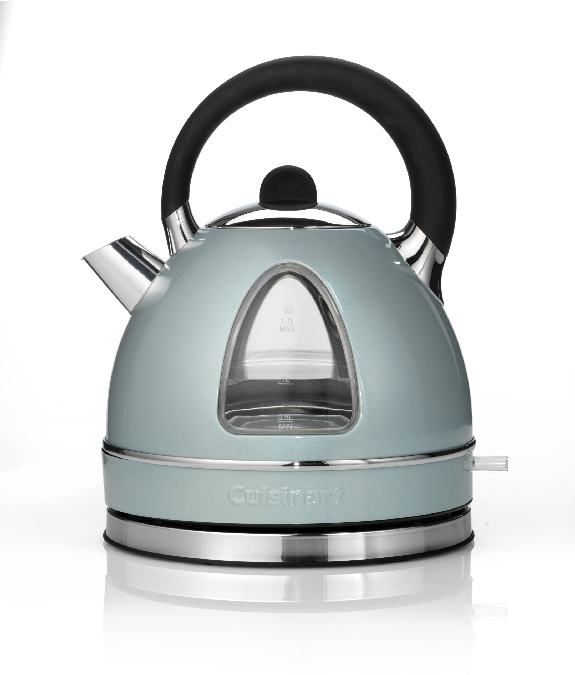 Traditional kettle in pistachio, £65, Cuisineart