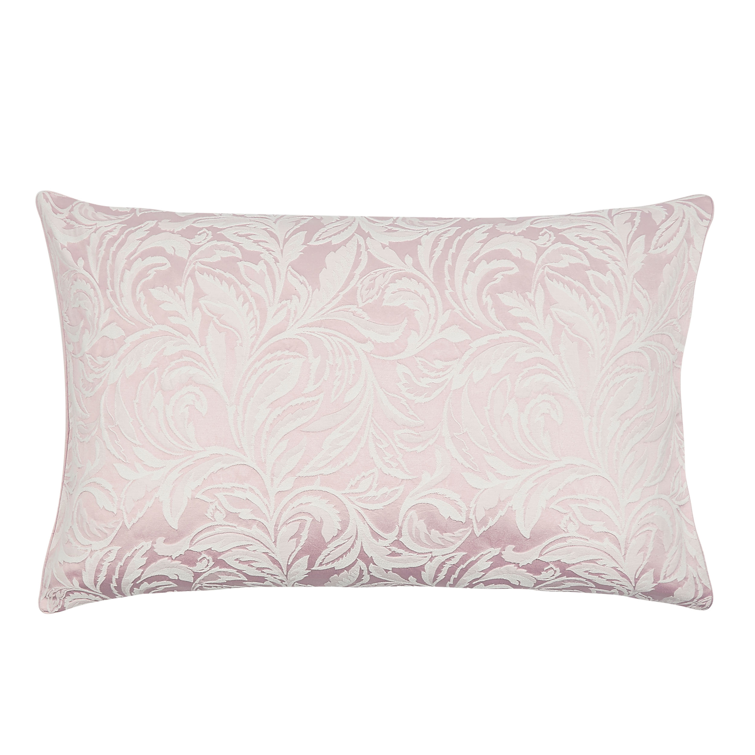 Fowey Jacquard blush Housewife pillowcase, £22, Laura Ashley