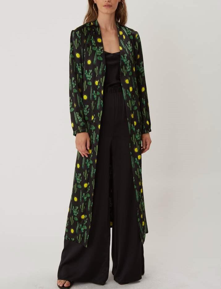 SILKE Cami top in stretch silk, £125