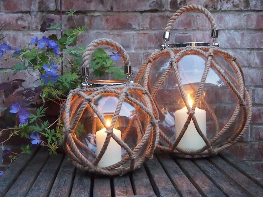 Globe lantern, £98.95,Annabel James