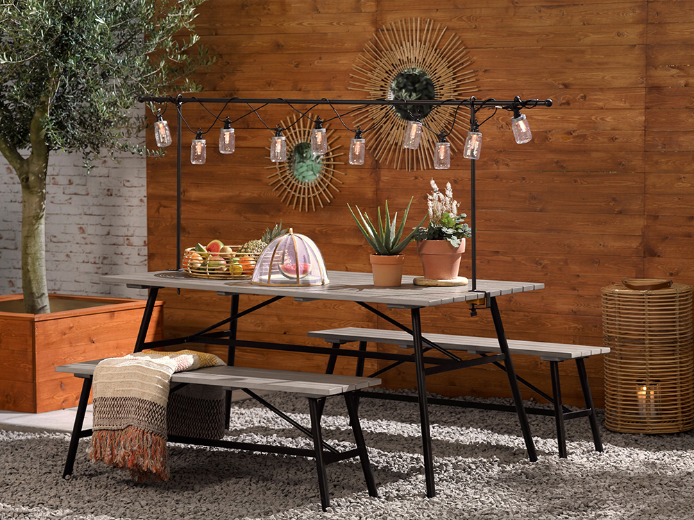 Outdoor seating, from £49, Ella James