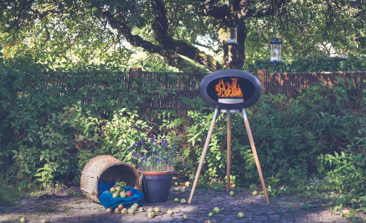 Le Feu ethanol fireplace, £1399, Cickooland
