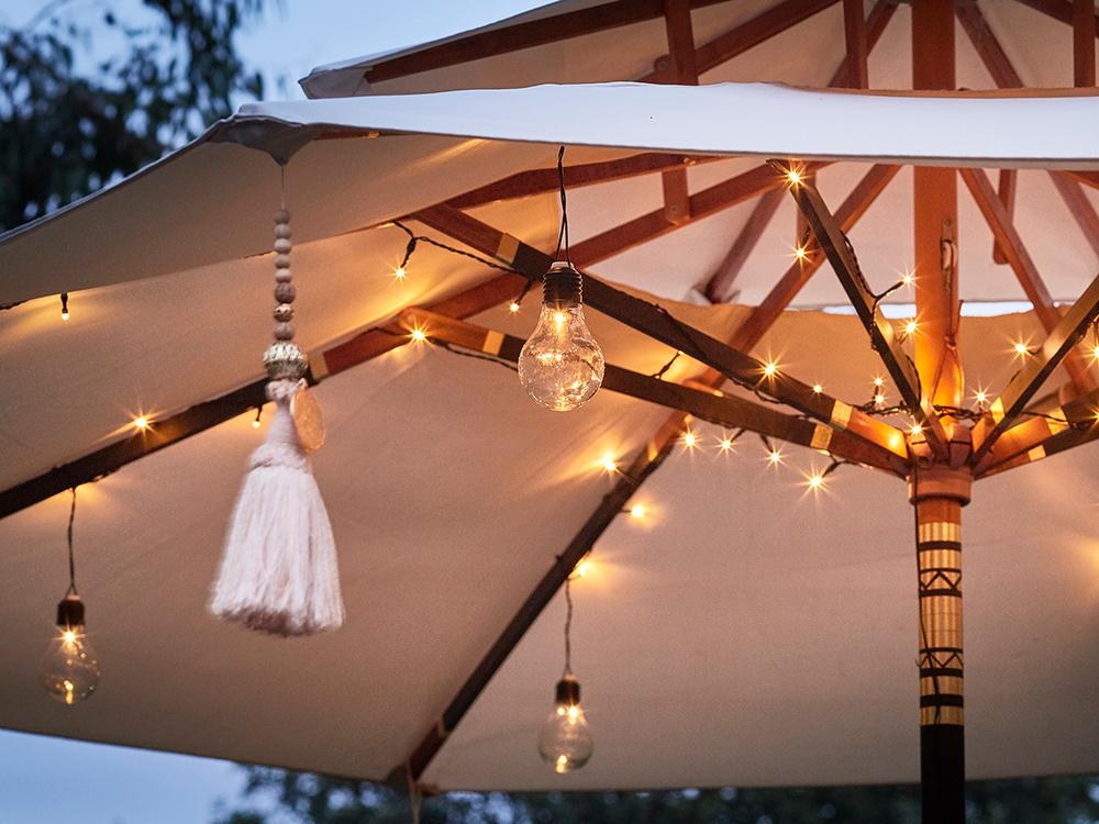 Globe bulbs, £140, Lights4Fun
