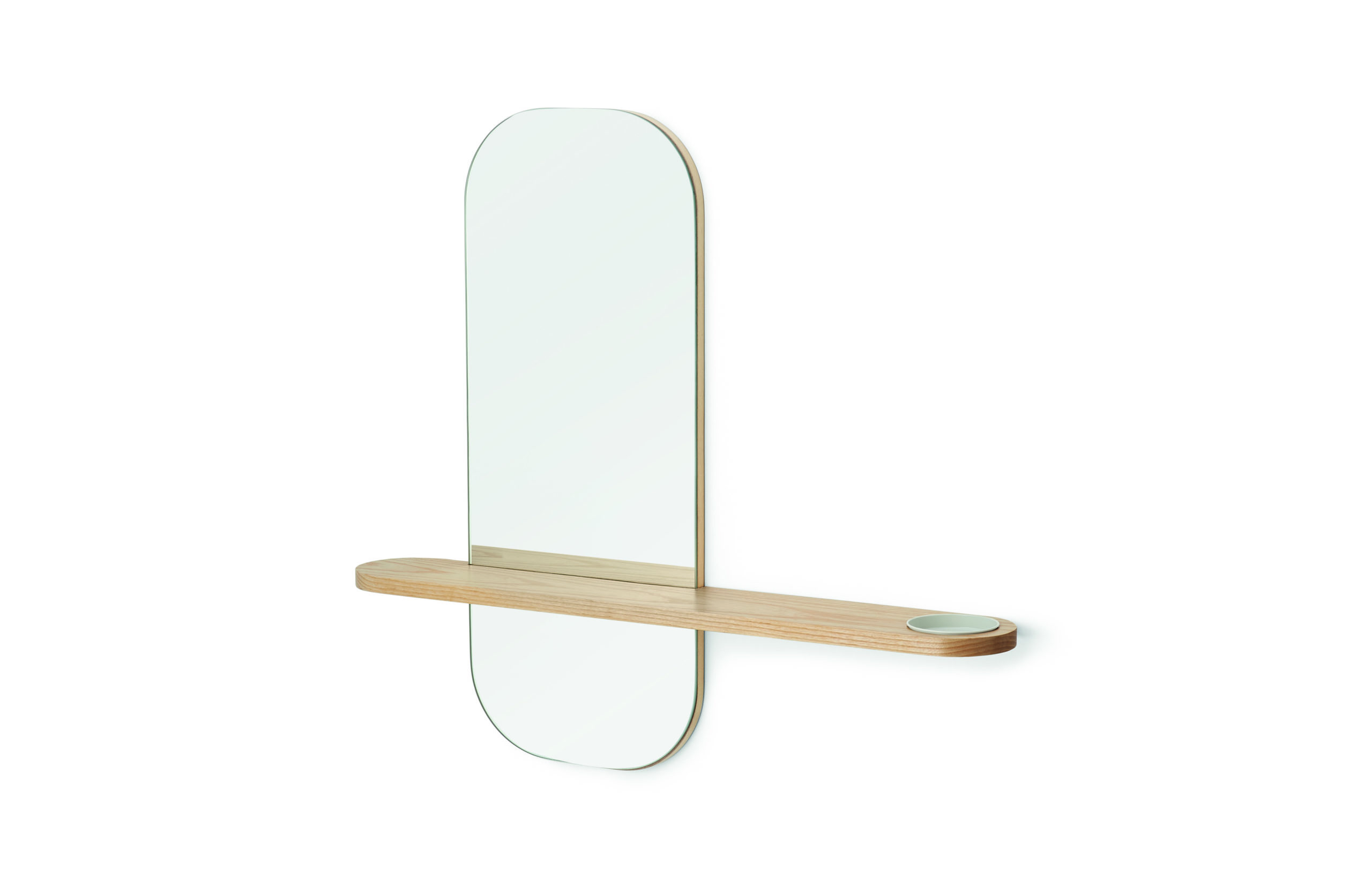 Wall mirror, £99, MADE.com