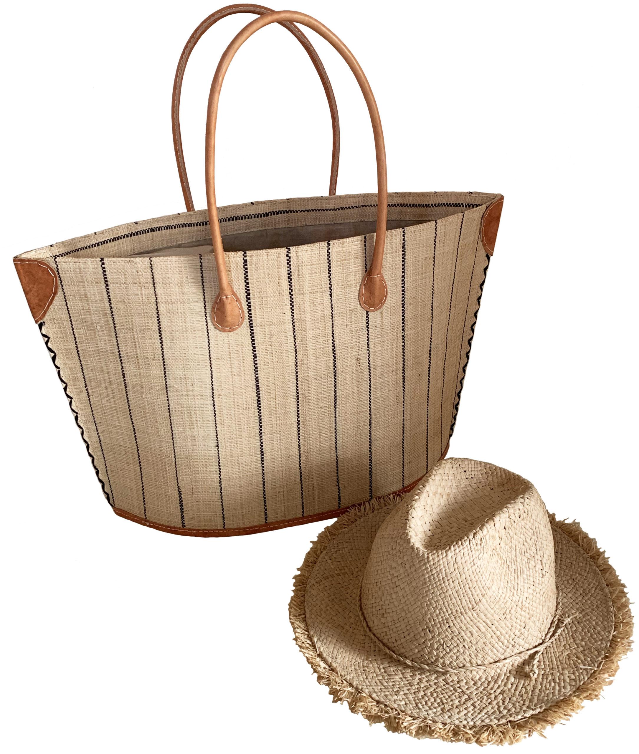 Bag and hat, £25, BasketBasket