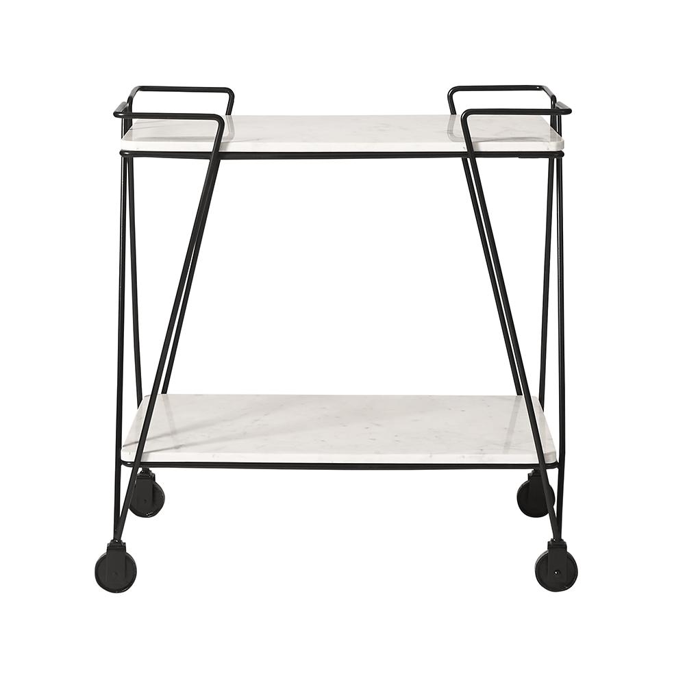 Bar trolley, £329, Swoon