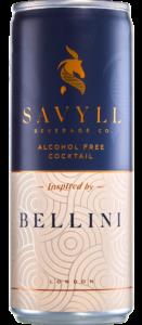 Savyll bellini summer cocktail