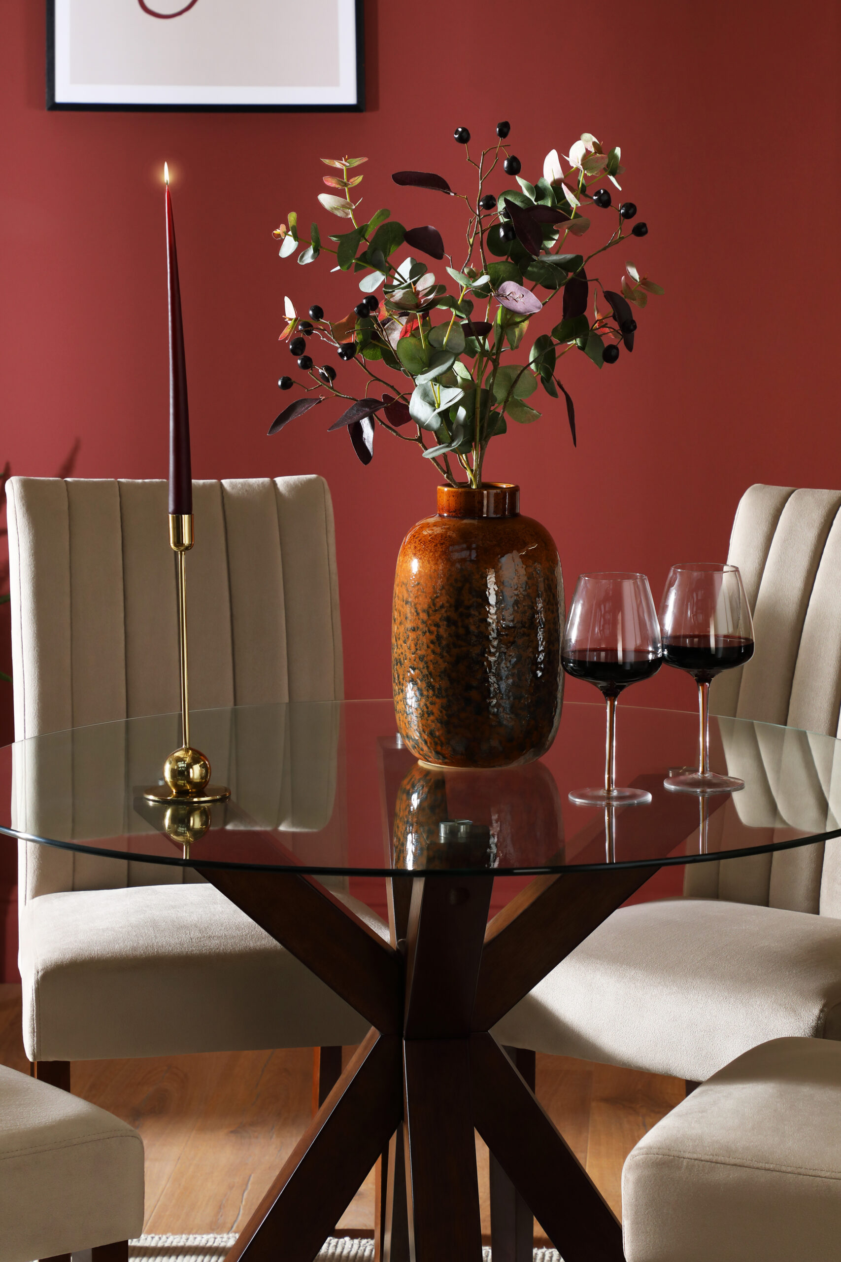Glass dining table, £499.99, Furniture and Choice