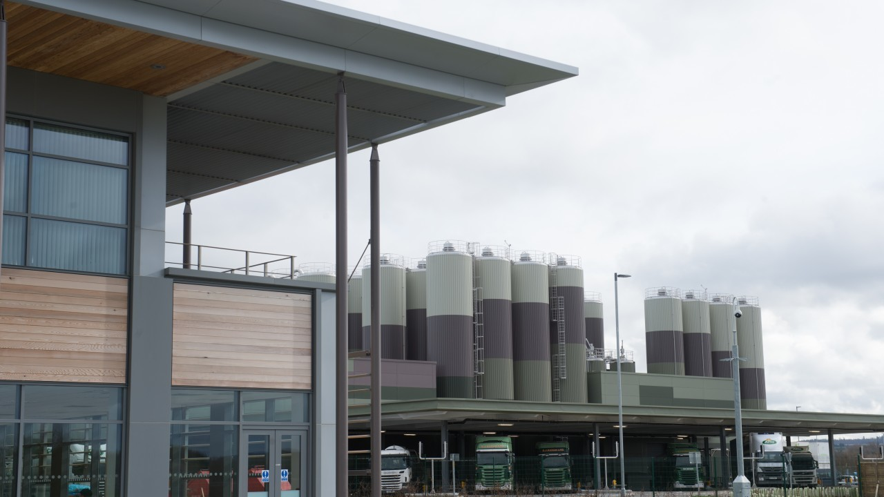 Arla's new £150million plant in Aylesbury, Buckinghamshire can process up to 1.5million bottles of milk a day.
