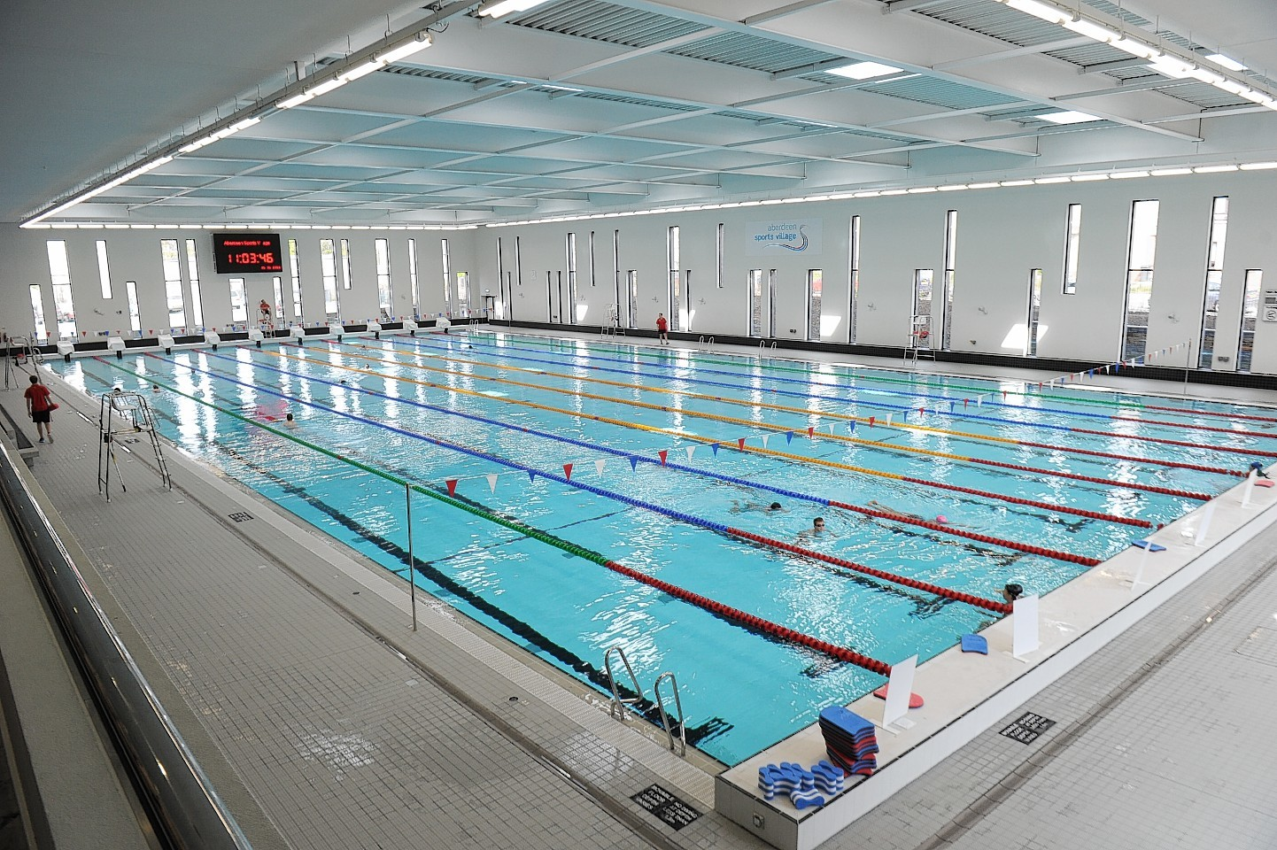 Aberdeen Sports Village Aquatics Centre.