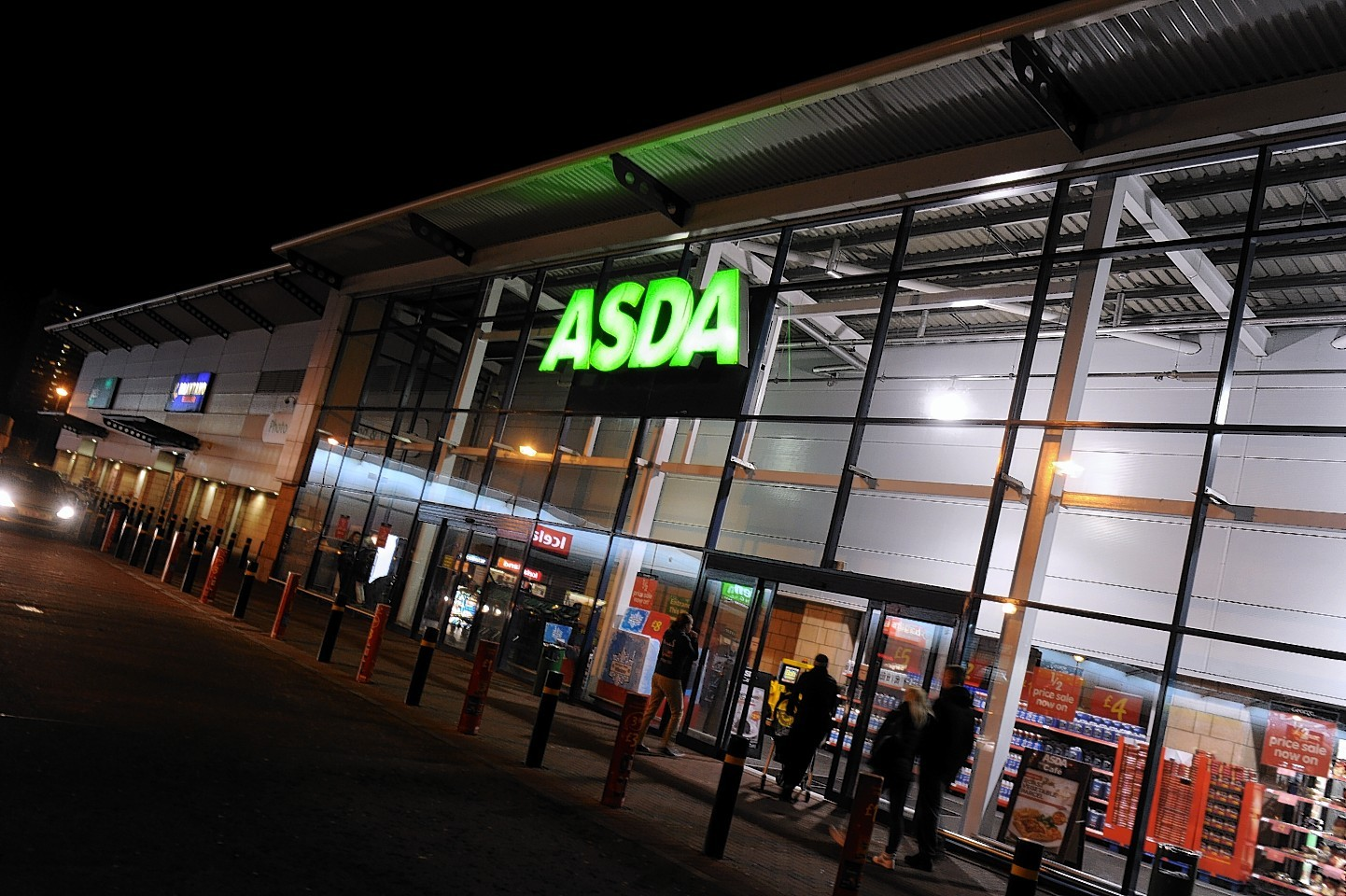 Singh was arrested at the Asda shop at Beach Boulevard in Aberdeen.