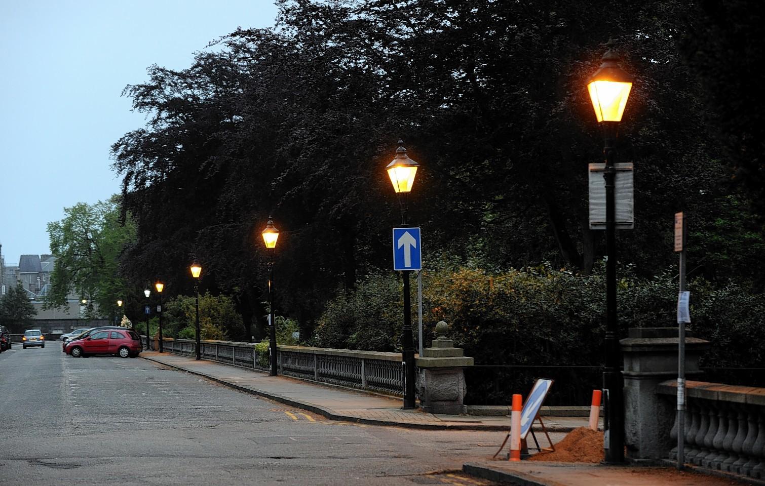 Aberdeen street lights have a hefty repair bill