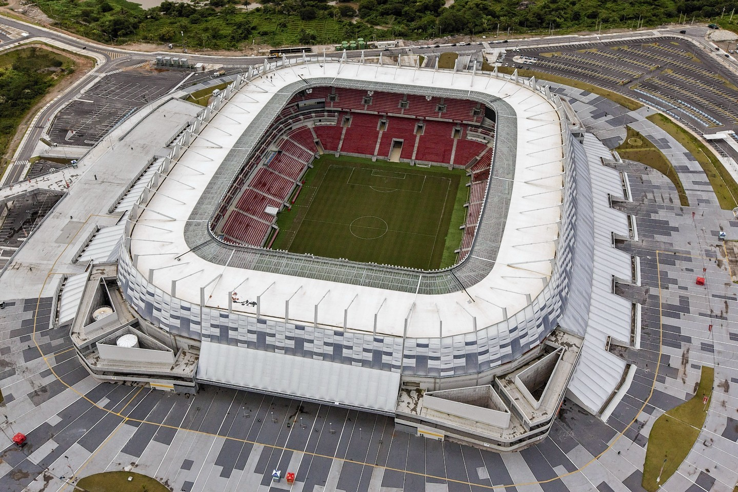 The Wold Cup host stadium in Recife, Brazil
