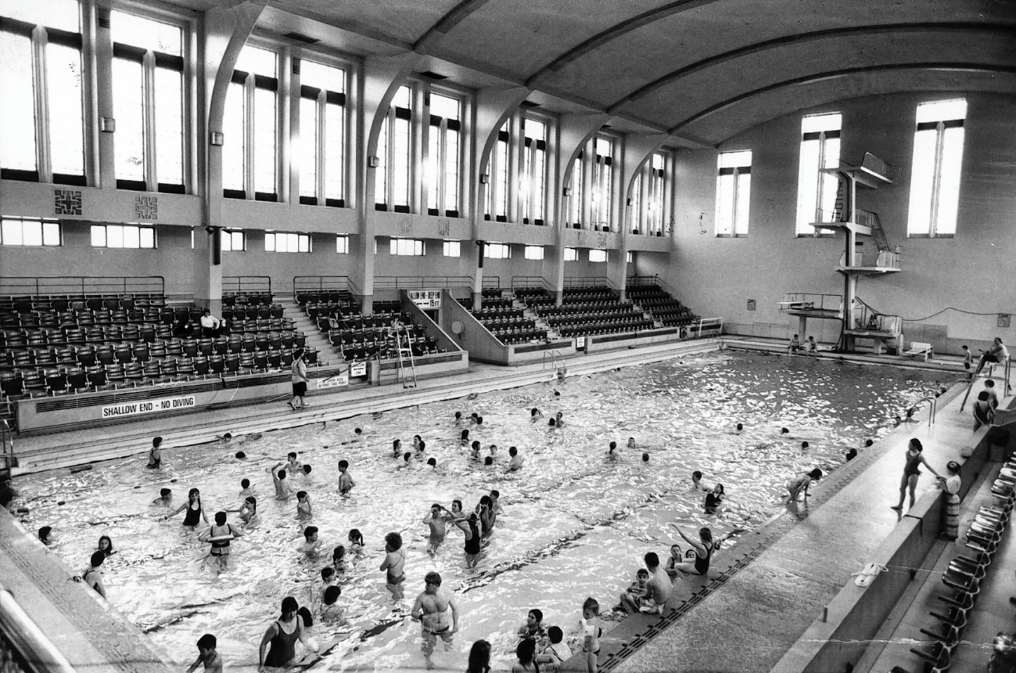 Bon Accord Baths in times gone by