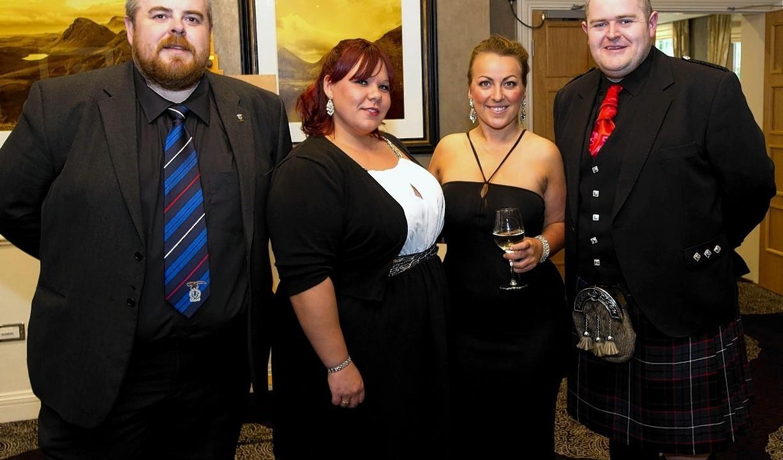 Don Johnstone, Emma MacIntosh, Samantha Skinner and Iain Auld.