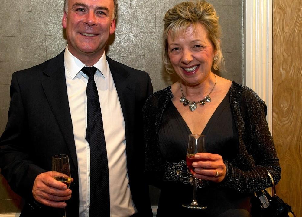 Gilbert and Kerrie Skinner.