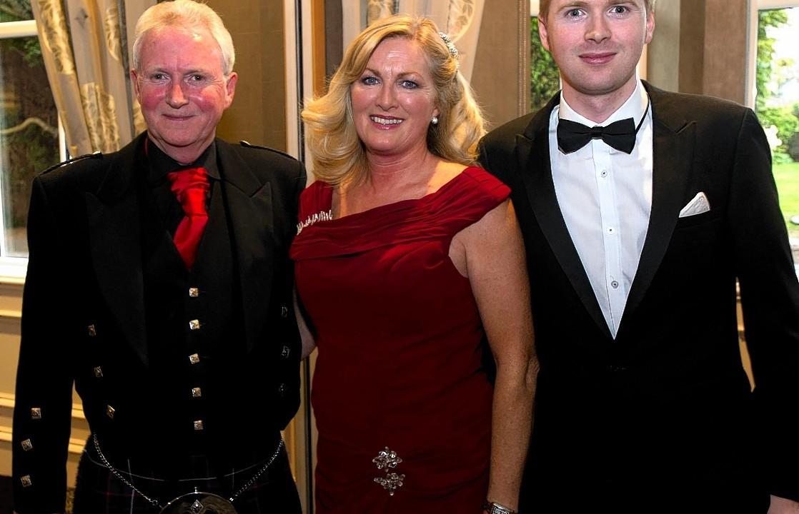 Kenny, Christine and Stephen Cameron.
