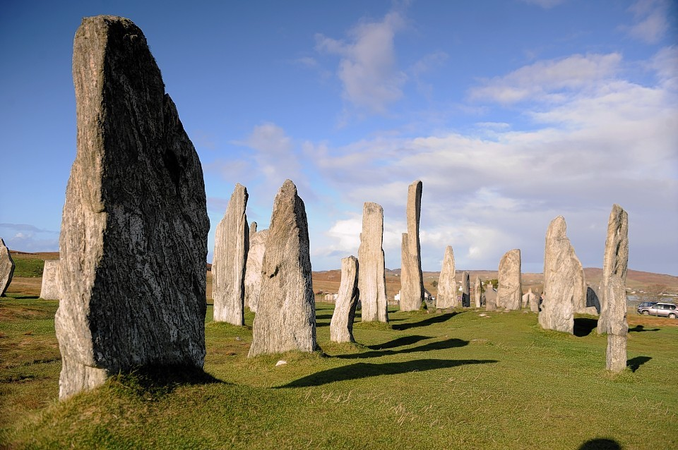 The Pixar film Brave has been credited with increasing visitor numbers to the Callanish Standing Stones