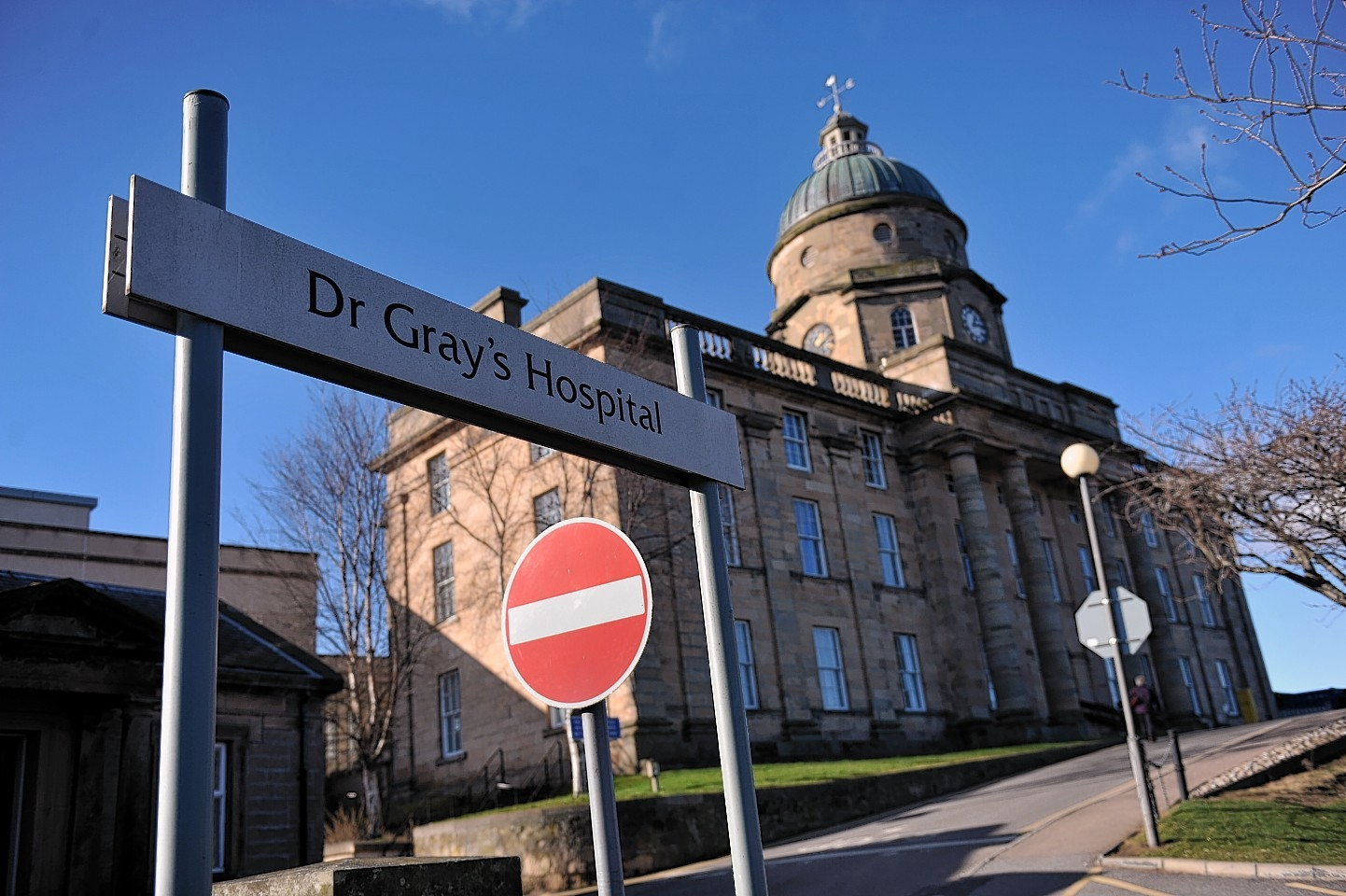 Dr Gray's Hospital in Elgin