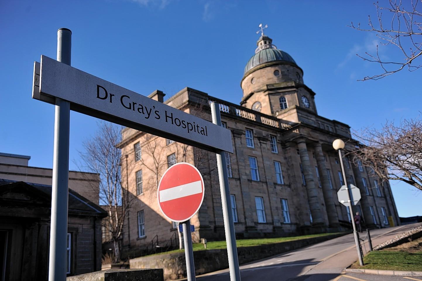 Dr Gray's Hospital in Elgin
