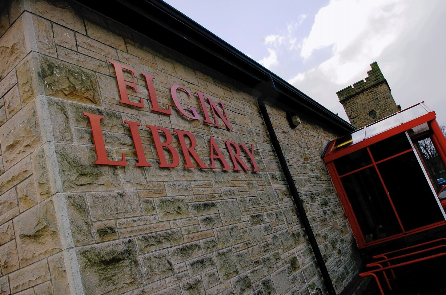 Elgin Library.