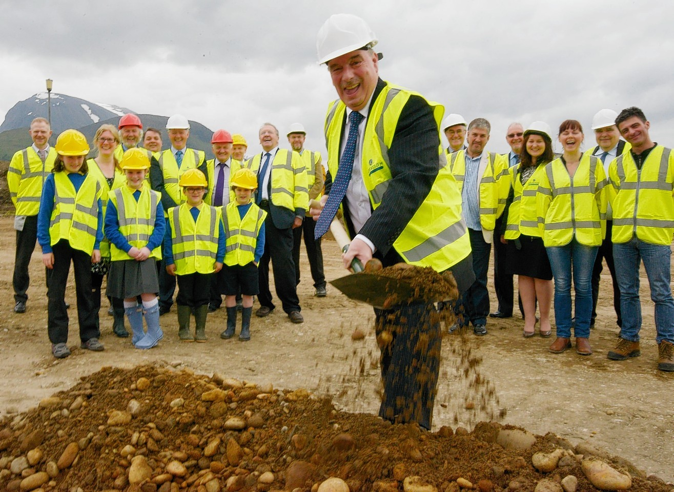 Works has started on the new Fort William schools