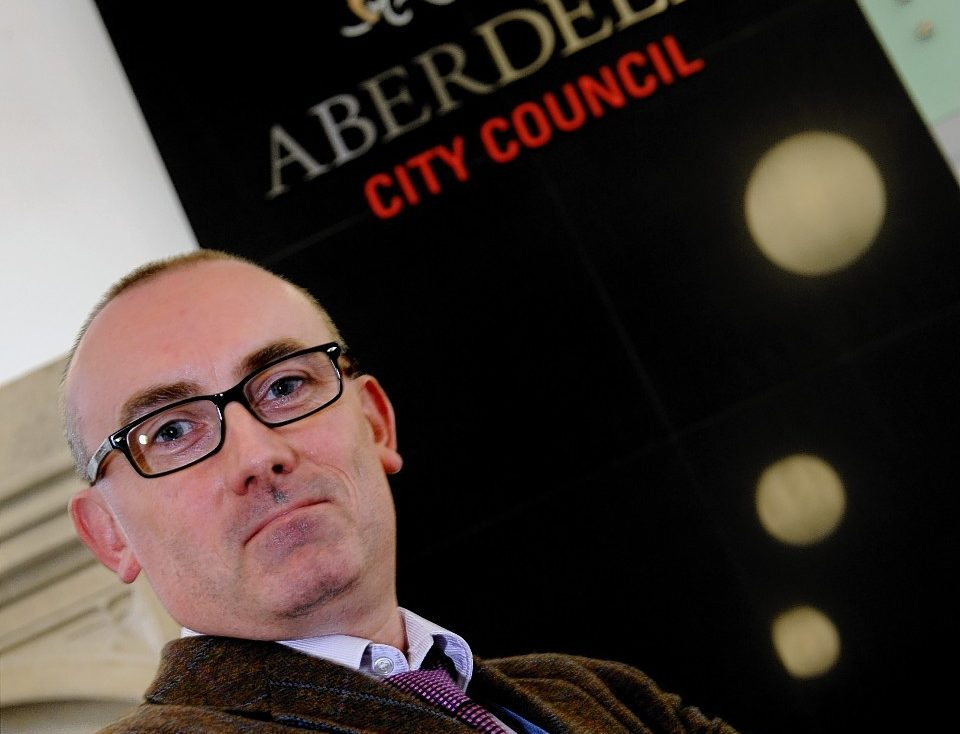 Graeme Paton of trading standards at Aberdeen City Council