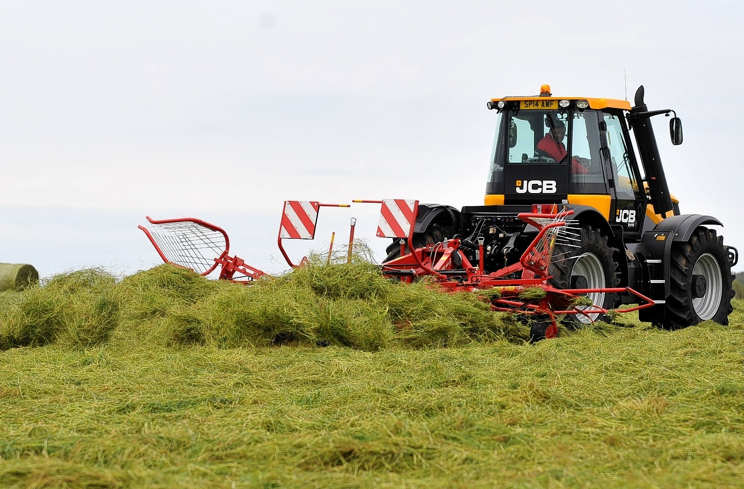 Grasstech at Plewlands Farm, Duffus. Lots of machinery on show.