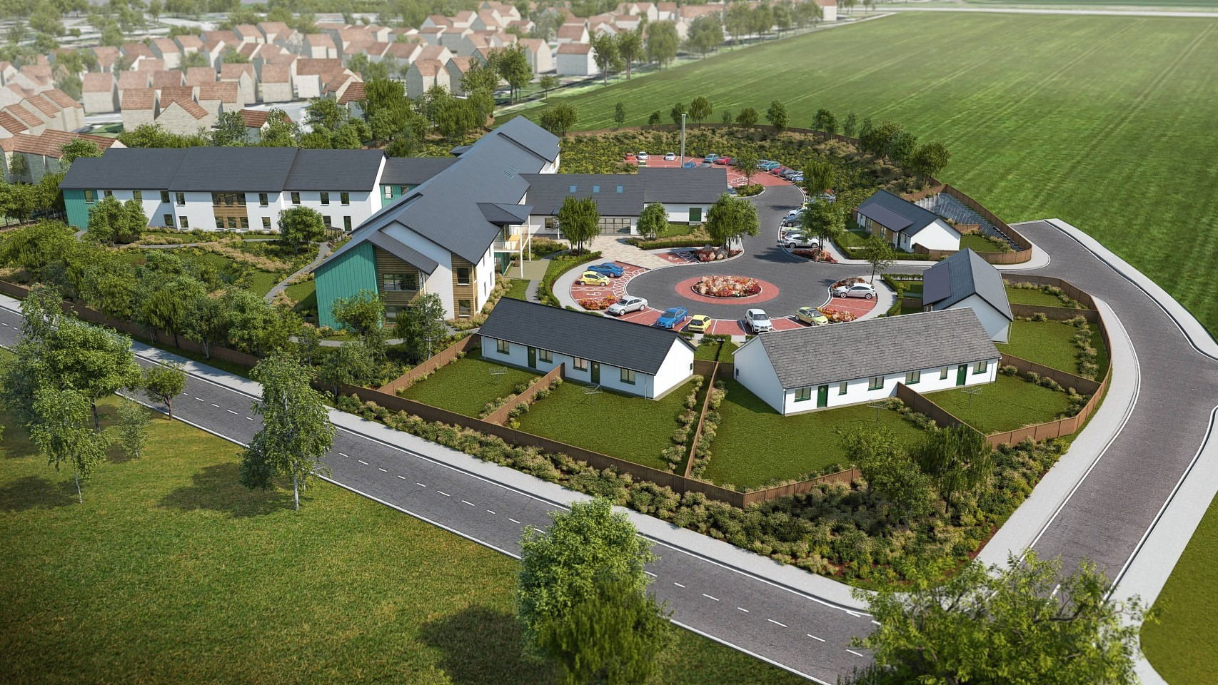 Inverurie care village is similar to the Peterhead proposals
