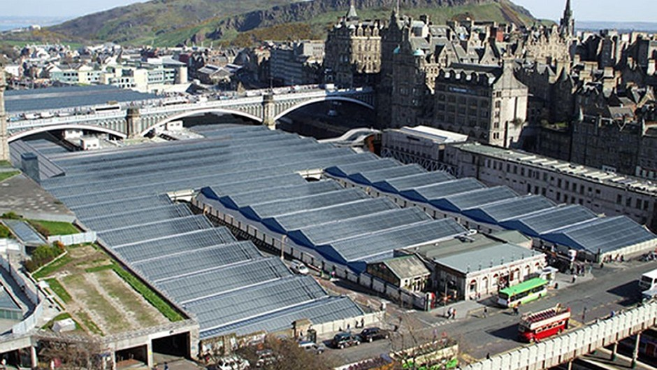 The man died following a collision near Waverley Station