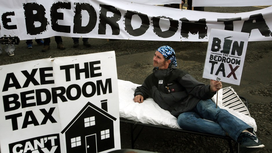 Powers relating to payments in connection with the so-called bedroom tax should be transferred to Holyrood quickly, MPs said