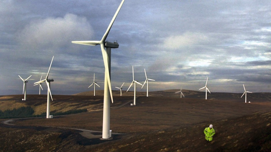 Plans for a 26-turbine wind farm south of Strathaven in South Lanarkshire have been approved by the Scottish Government