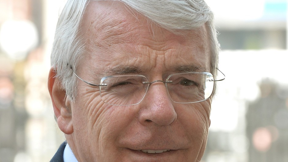 """Sir John Major has said SNP claims that a no vote means no action was """"frankly absurd""""."""