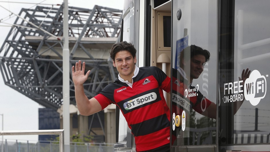 Edinburgh's Sam Hidalgo-Clyne has been called up to the Scotland squad