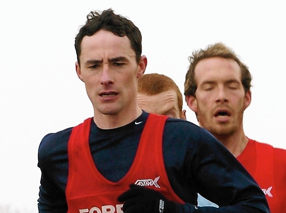 Paul Rogan of Forres Harriers