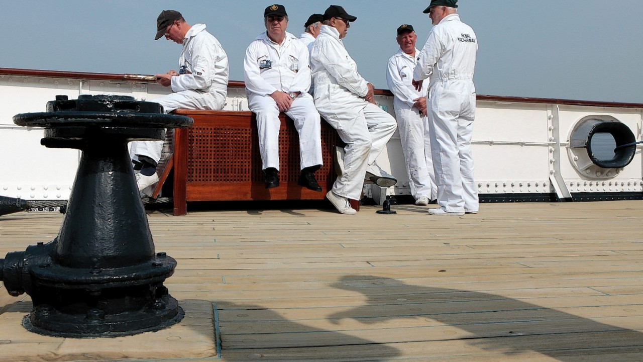This week marks sixty years since The Royal Yacht Britannia was commissioned. To celebrate, The Royal Yachtsmen or 'Yotties' are back on board to work along side the current team