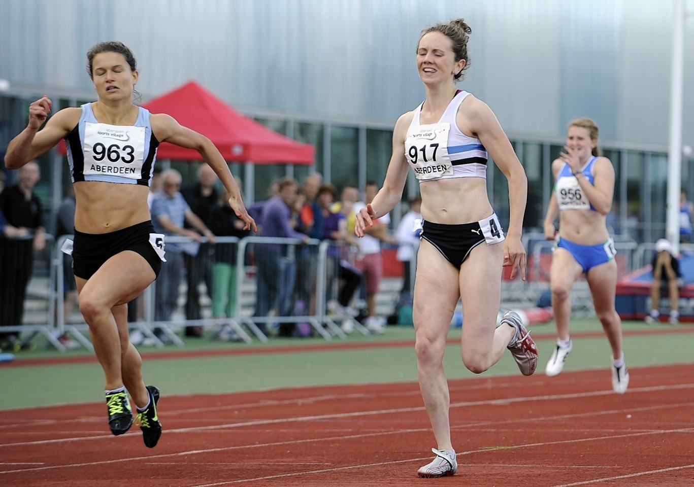 Kathryn Christie (left) is hoping to make the Scotland team for the Commonwealth Games