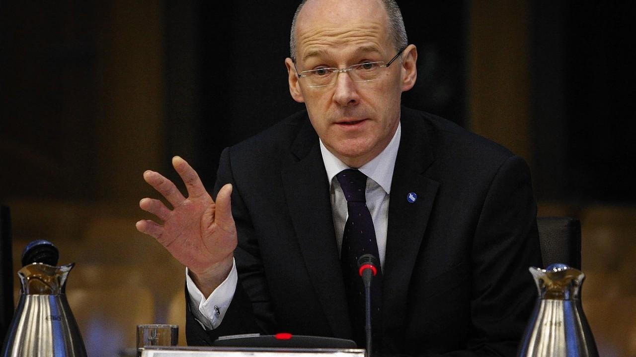 Finance Secretary John Swinney