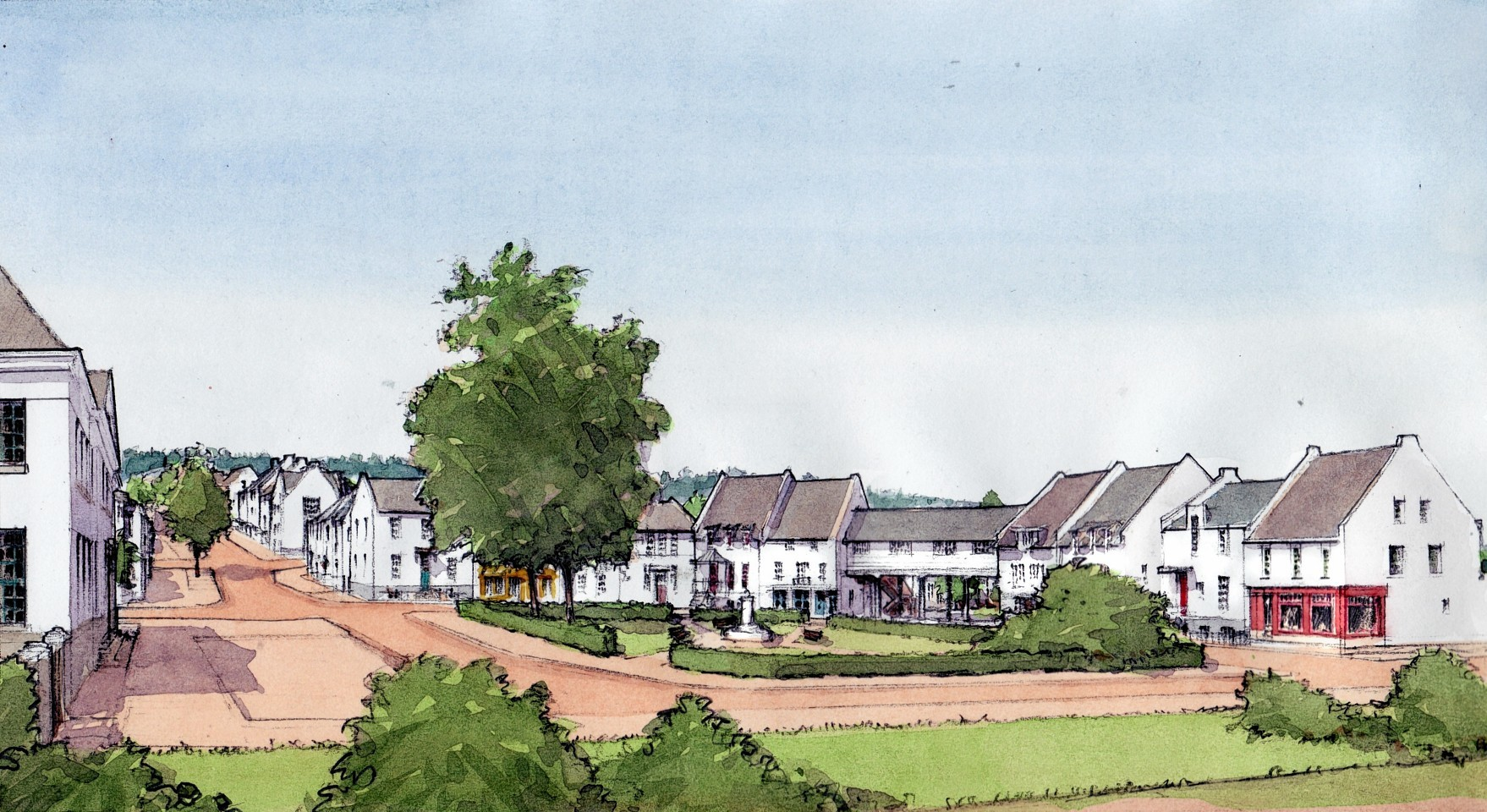 Artist impressions of the plans for Tornagrain