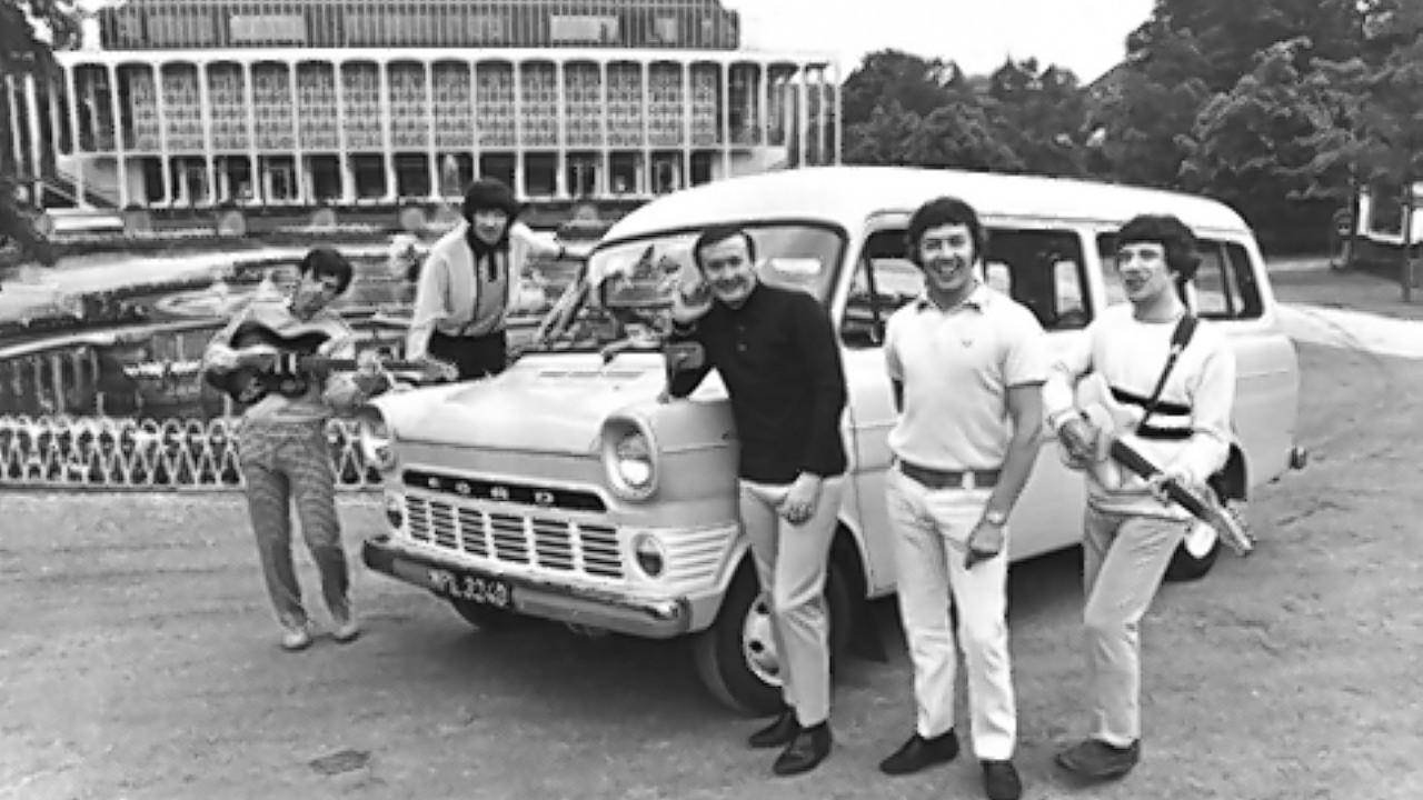 Tremoloes using a Ford Transit van as the model is approaching its 50th anniversary