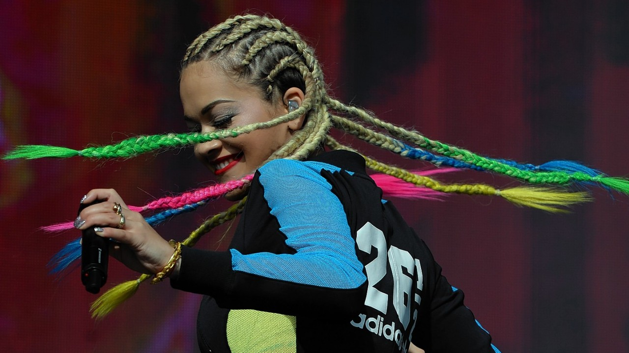 Rita Ora performing during Radio 1's Big Weekend at Glasgow Green, Glasgow.