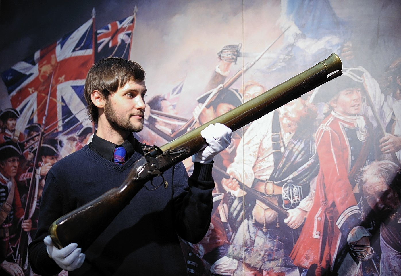 The blunderbuss is to stay at Culloden