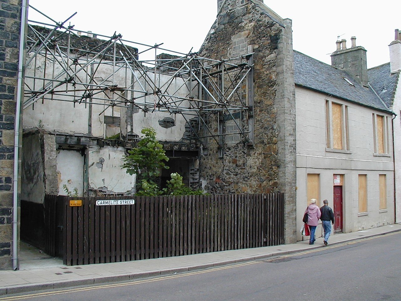 "The former ""eyesore"" gap site on Banff's Carmelite Street"