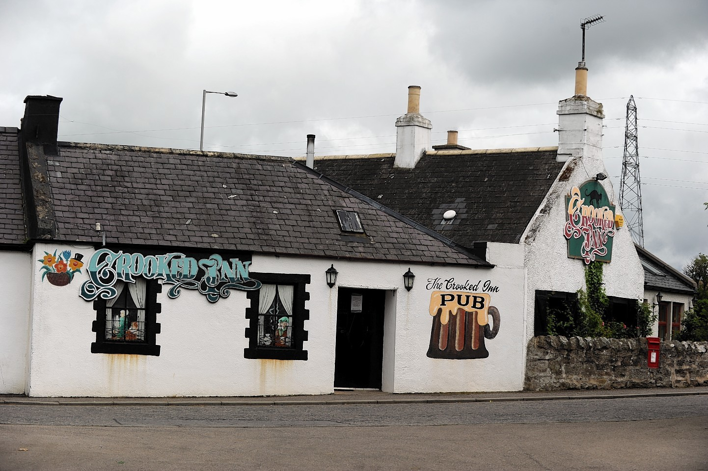 The Crooked Inn in Moray is up for sale